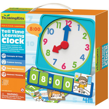 Edukativna torbica Tell Time Learing Clock