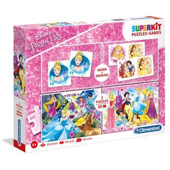 Puzzle Games Superkit 4u1 Princess memo
