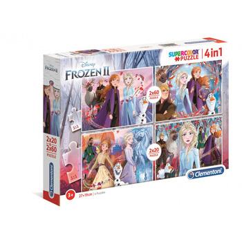 Puzzle Clementoni 2x20+2x60 Frozen 2