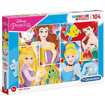 Puzzle 104 pcs Princese Clementoni