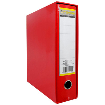 Registrator A4 PVC crveni Premium Optimum