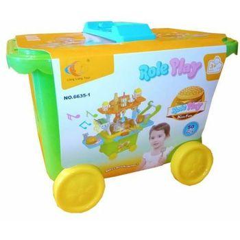 Kofer Trolley Mc Donald zeleni
