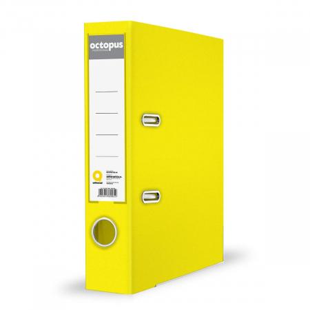 Registrator A4 80mm samostojeći žuti