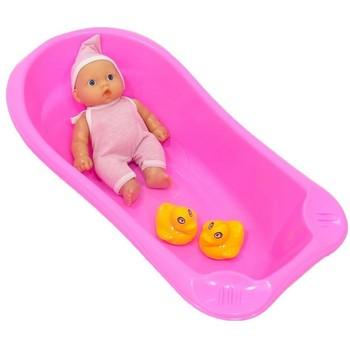 Lutka beba u kadici sa patkicama