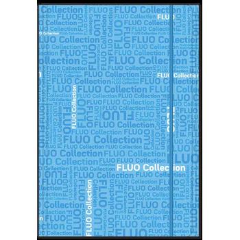 Fascikla A4 Fluo plava kolekcija sa gumom