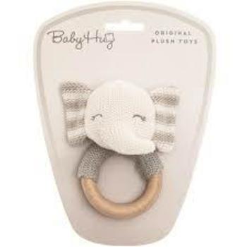 Zvečka štrikana Baby Hug Slon