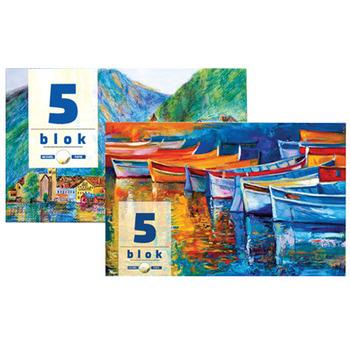 Blok broj 5 Akvarel