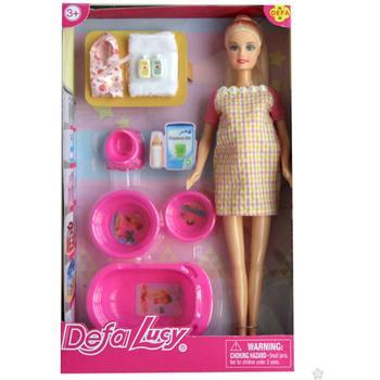 Lutka Defa trudnica sa opremom