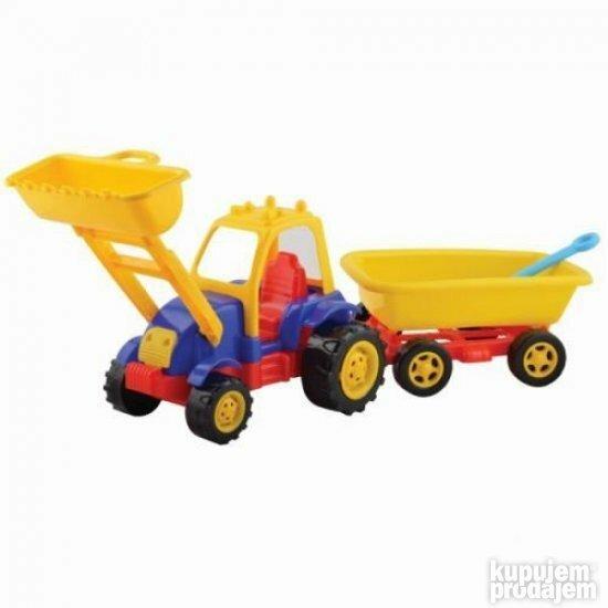 Traktor sa prikolicom Tombul