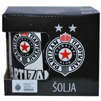 Šolja veća keramička Partizan u kutiji