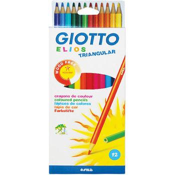 Drvene bojice Giotto 12/1 triang elios