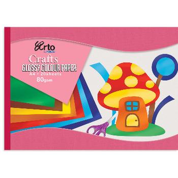 Blok slikarski Craft A4 sjajan 80g