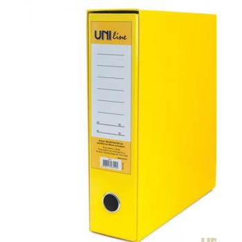 Registrator A4 80mm pvc žuti