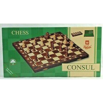 Šah garnitura rezbarena Consul