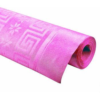 Stolnjak papirni rozi pink  1.2x7m