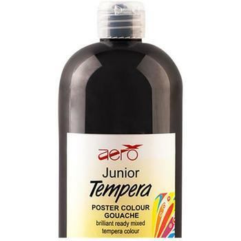 Tempera Aero 1/1 crna 1L flaša
