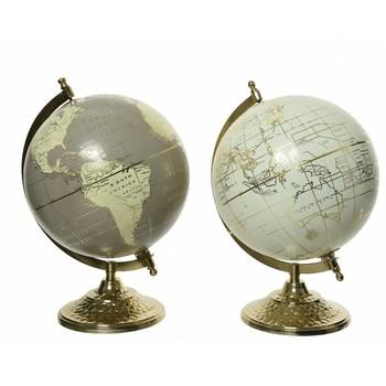 Globus 25cm ukrasni Zlato-Srebro