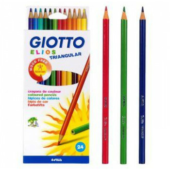 Drvene bojice Giotto 24/1 triang elios