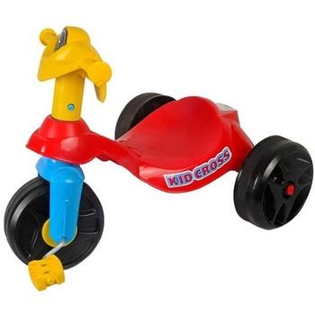 Tricikl crveni kid cross sa pedalama