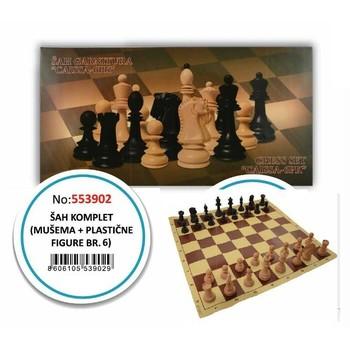 Šah garnitura  Caissa -6pk